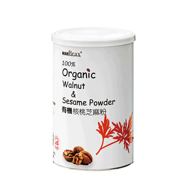 (Brax)Brax Organic Walnut Sesame Powder 400g/can