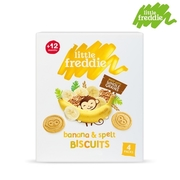 Little Freddie Biscuit Series-Wheat Banana Biscuits (80g)