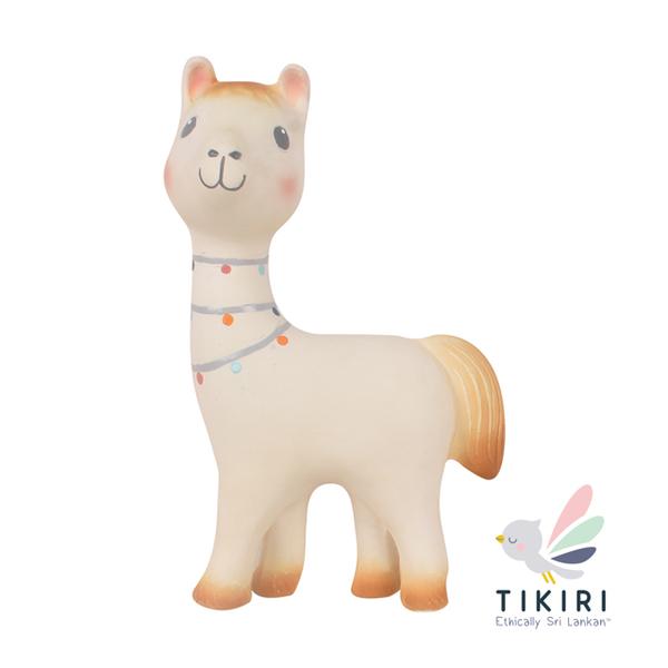 (TIKIRI)TIKIRI rattle solid tooth toy alpaca