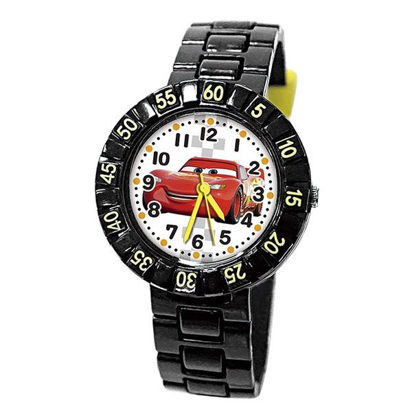 (disney)[Disney Disney] Lightning McQueen's playful rotating watch-Black Hyun McQueen