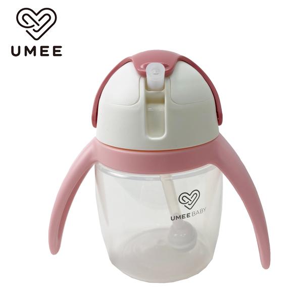 """(Umee)Netherlands """"Umee"""" Youku Penguin Water Cup 240ml-Light Pink"""