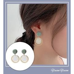 Yuan Yuan ต่างหูแฟชั่น สไตล์เกาหลี-925 Sterling Silver A0006