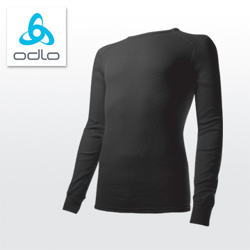 (ODLO)[M] silver ions ODLO warm clothing Tee 152 022 (15,000 black)