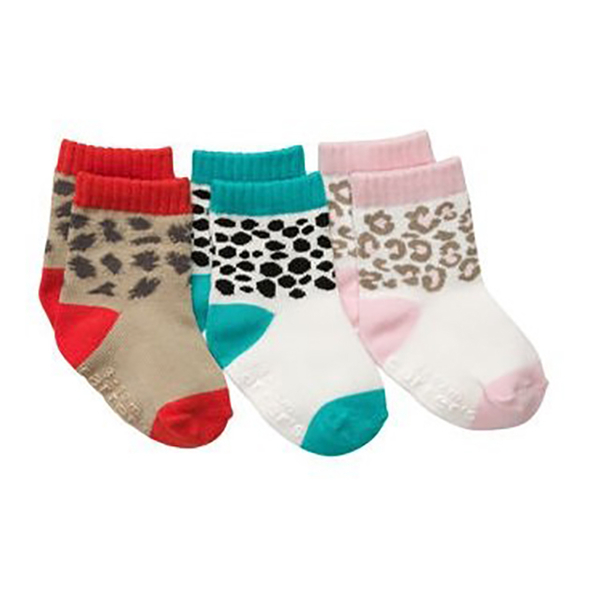 American Carter / Carters infant socks three into the group_CTSG3-04