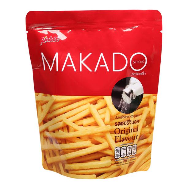 【MAKADO】麥卡多薯條 27g/包_原味 x3入