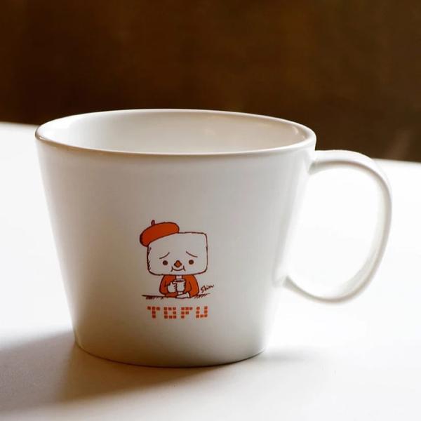 豆腐人 x 路力Mug B 馬克杯