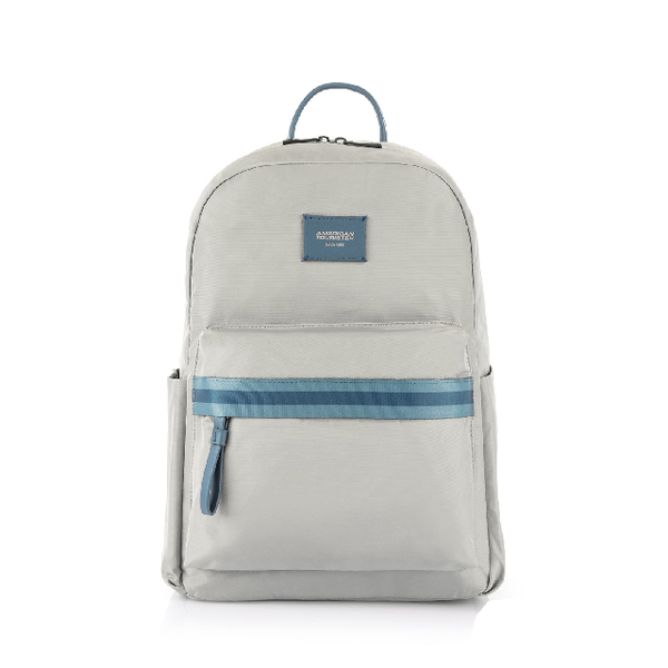 (american tourister)AT American Traveler Mia Lightweight Simple Laptop Backpack 14 (Light Grey)