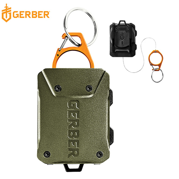 Gerber Defender Fishing Guard Dual-use Telescopic Cable Tool Buckle (Army Green) 30-001434