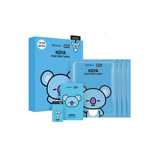 MEDIHEAL × BT21 KOYA Key Moisturizing Mask 20ml (x4) BTS