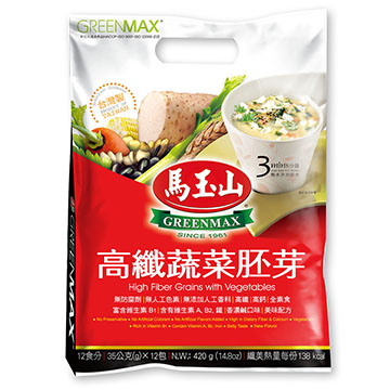 """Ma Yushan"" high-fiber vegetable germ (12pcs/bag)"