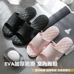 [Happy Home] รองเท้าแตะในร่มกันลื่นแบบหนา EVA (1 คู่)