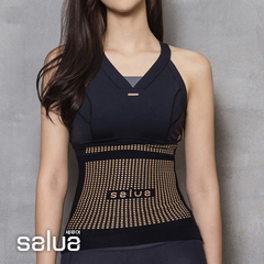 [Salua นำเข้าจากเกาหลีใต้] สายพานพลาสติกเจอร์เมเนียม - สีดำ