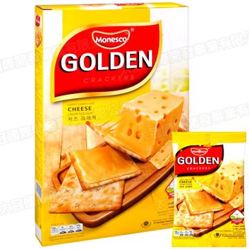 Monesco Golden - Cracker Cheese แครกเกอร์สอดไส้ชีส 16 pieces (192g)