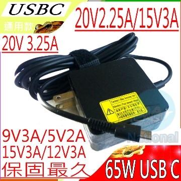 USB-C, เครื่องชาร์จ TYPE-C-ASUS, ACER, HP, IBM, LENOVO, SONY, DELL, LG, SAMSUNG ที่ต่ำกว่า 65W สากล