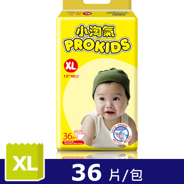 Little naughty breathable and dry diapers XL (36 pieces/pack)