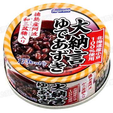 Hagoromo Hokkaido carefully selected red bean can (90g)