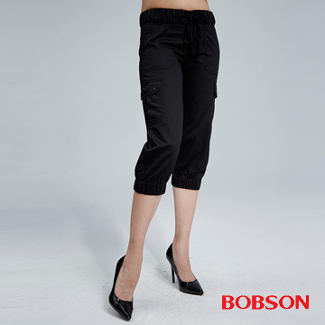 (BOBSON)BOBSON female models patch pocket casual pant (157-87)