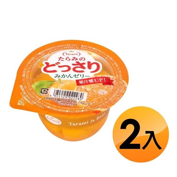 TARAMI Jelly-Tangerine (230g*2pcs)