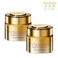 TSUBAKI Premium Repair Mask มาร์คบำรุงผม ช่วยทำให้ผม นุ่ม เงางาม มีน้ำหนัก 180กรัม (x2ชิ้น)(Hair Color)