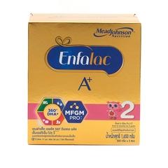 เอนฟาแล็ค A+ นมผงสำหรับทารก สูตร 2 ขนาด 1.65 กก. Enfalac A + Milk Powder for Infants Formula 2 Size 1.65 kg. > 2 ชุดถูกกว่า