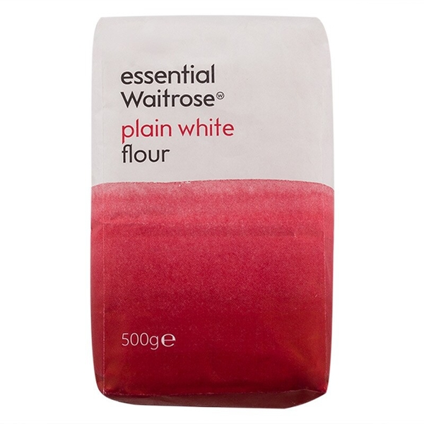 เวทโทรสเอสเซนเชี่ยลเพลนแป้งสาลีอเนกประสงค์ 500กรัม Waitrose Essence Plain All Purpose Flour 500g. > 2 ชิ้นถูกกว่า