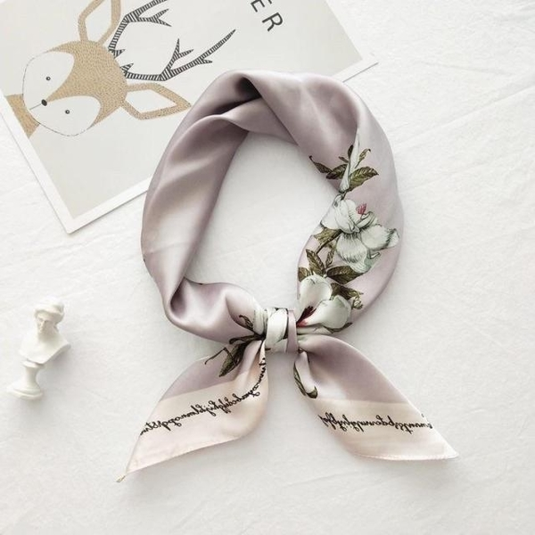 vivi fashion scarf, spring and autumn summer new wild scarf, small square scarf 052302
