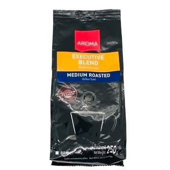 Aroma Coffee Executive Blend 250g  อโรมาคอฟฟี่เอ็กเซ็กคิวทีฟเบลนด์ 250 กรัม > 1 ชุด