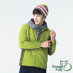 [SNOWFOX สโนว์ฟ็อกซ์] เสื้อวอร์มน้ำหนักเบาผู้ชาย Arctic Fleece จำนวน จำกัด (ขนแปรงละเอียด / ยืดหยุ่นดี / นุ่มสบาย FC-71651 ผลไม้สีเขียว / เขียว)
