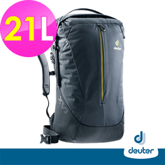 [German deuter] X-Venture XV3 Multifunctional City Travel Backpack 21L (3850418 Black / Student School Bag / Business Bag / Travel Backpack)
