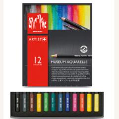 CARAN d ACHE ดินสอสีไม้ละลายน้ำ Museum Aquarelle 12 สี *3510.321