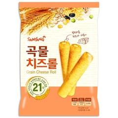 ซัมยังขนมธัญพืชอบกรอบสอดไส้ครีมชีส 80กรัม Samyang Cereal Snack Filled with Cream Cheese 80g. > 2 ชิ้น ถูกกว่า