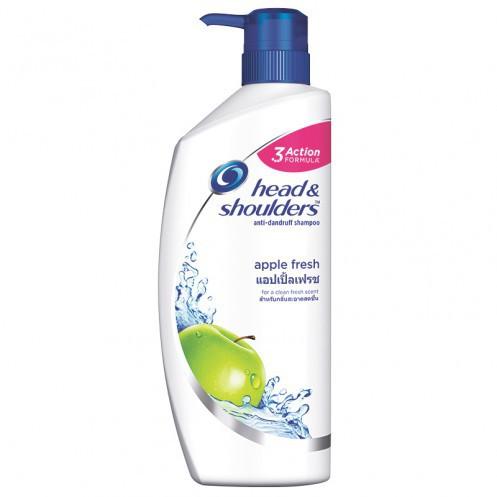 Head&Shoulders Shampoo เฮด&โชวเดอร์ ขนาด 480ml/ขวด แพ็คละ3ขวด แชมพูขจัดรังแค (สินค้ามีตัวเลือก)