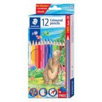 STAEDTLER  ดินสอสี สเต็ดเลอร์ แท่งยาว Colour Pencil (สินค้ามีตัวเลือก) > 12สี x 6กล่อง