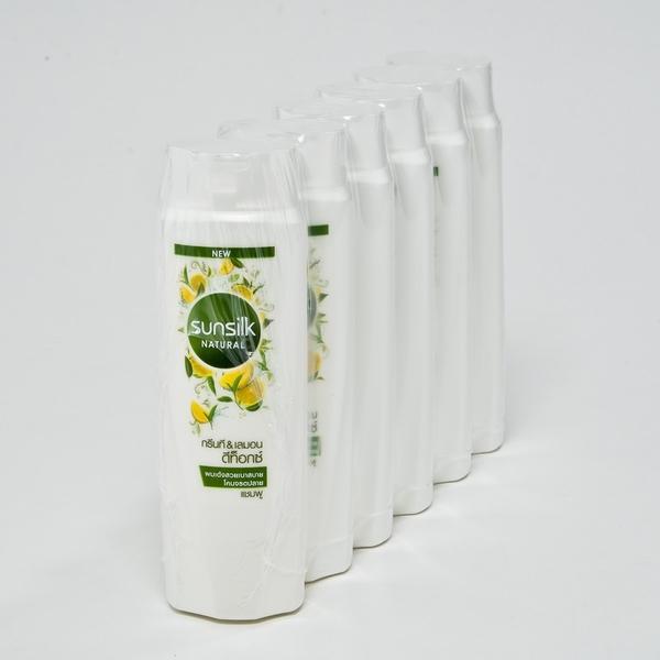 Sunsilk Natural ซันซิล เนเชอรัล แชมพู ขนาด 120ml/ขวด แพ็คละ6ขวด (สินค้ามีตัวเลือก)