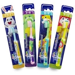Kodomo แปรงสีฟันเด็ก โคโดโม แพ็คละ6ด้าม Baby Toothbrush (สินค้ามีตัวเลือก)