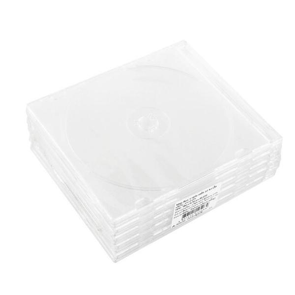 กล่องใส่ CD SLIM ใส (10 กล่อง) M-SIGN