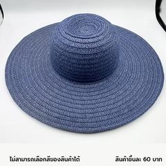 หมวกสานปีกกว้าง Wide brim straw hat > 1 ชุด