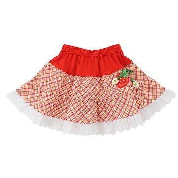 กระโปรง SUPERMINI Strawberry Garden Series (สีแดง)