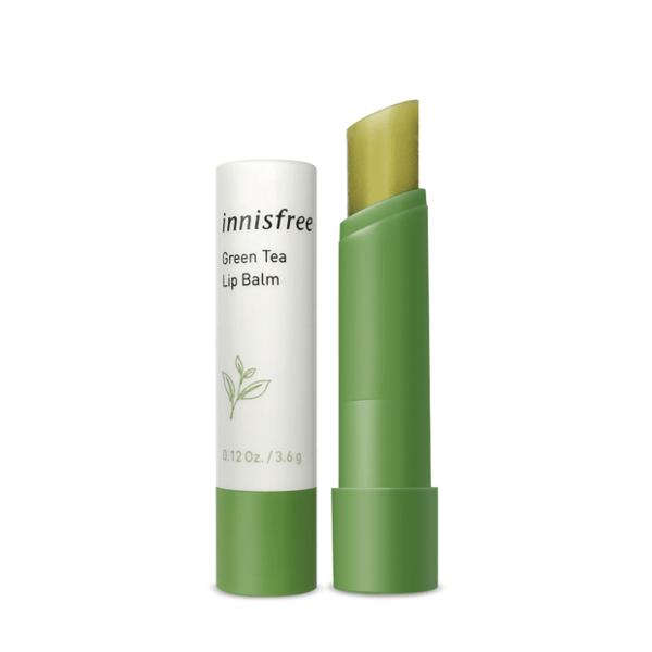 韓國Innisfree 綠茶保濕護脣膏 3.6g