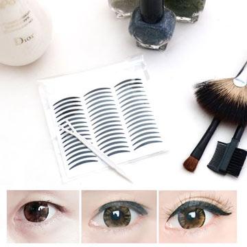 Belle Chi Beauty ☆ Korean Double Eyelid Sticker Eyeliner Sticker (Black) Ultra-Slim 2mm Non-Reflective Natural Style-Value 144 โบนัสแท่งรูปตัว Y