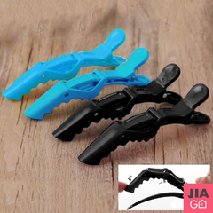 JIAGO Dyed Perm Universal Dinosaur Clip / Alligator Clip (5 ชิ้น / ชิ้น)