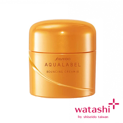 Shiseido Aqualabel Bouncing Cream III 50g ช่วยให้ผิวเนียนนุ่มชุ่มชื่น
