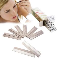 [มูลค่า 30 ชิ้น] Kiret Eyebrow Shaving Blade-Stainless Steel Feather Blade / Face Shaving, Hair Removal