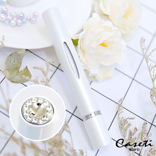 [Caseti] White Travel Perfume Bottle, Perfume Carrying Bottle, Perfume Distributed Bottle ความจุ 3.1ml