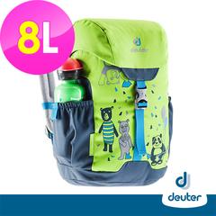 [เยอรมัน deuter] กระเป๋าเป้เด็ก SCHMUSEBAR 8L (3612020 Grass Green / Dark Blue / School Bag)