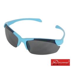 [แว่นกันแดดกีฬากลางแจ้งสำหรับเด็ก Docomo] PC เลนส์กีฬาป้องกันการระเบิดการออกแบบที่ยืดหยุ่นสวมใส่เอฟเฟกต์เป็นพื้นผิวที่ยอดเยี่ยมกรอบสีน้ำเงินต้านทาน UV400