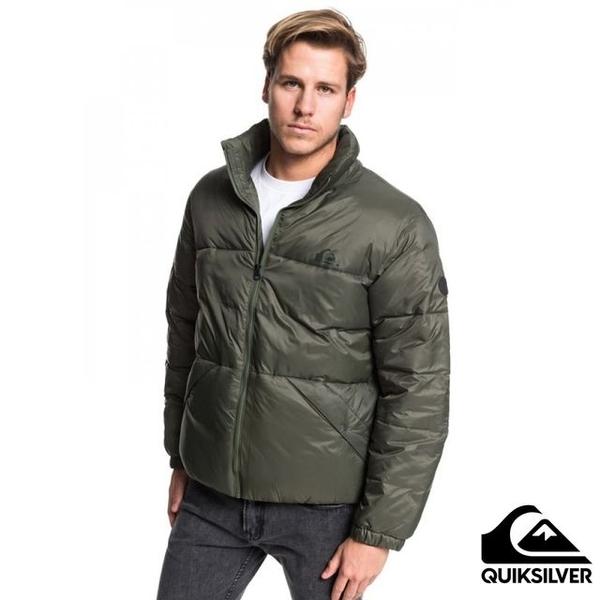 [QUIKSILVER] THE OUTBACK Cotton Jacket สีเขียวทหาร
