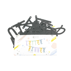 [SomeShine] แบนเนอร์ตัวอักษร DIY - สีดำ
