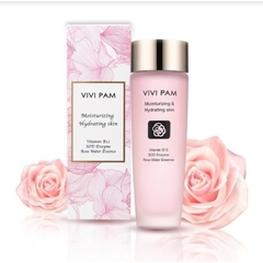 VIVI PAM - Moisturizing Toner สารสกัดจากดอกกุหลาบดามัสก์แห่งบัลแกเรีย ช่วยเพิ่มความชุ่มชื้นให้ผิวหน้า 150ml