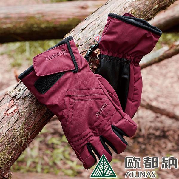 (ATUNAS)[ATUNAS] Gore-Tex waterproof and breathable gloves (A1AGAA02N dark red)